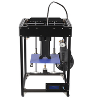 Free Shipping Black 1KG Filament 180 180 300mm Delta Kossel Rostock Kossel K800 Mini 3D Printer