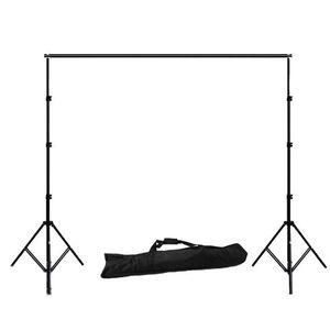 Image 2 - ZUOCHEN 사진 스튜디오 배경 지원 스탠드 키트 1.6*3m 블랙 화이트 그린 스크린 배경 세트 2*2m 배경 스탠드 비디오