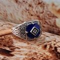 Movie Ring - HOT SALE FASHION The Vampire Diary Caroline Exaggerated Vintage Ring Jewelry