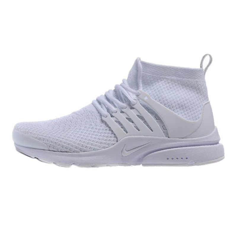 official photos 015de 2f59a Nike Presto Flyknit Women's Running Shoes, White, Breathable Non-slip  Abrasion Resistan Lightweight 835570 100