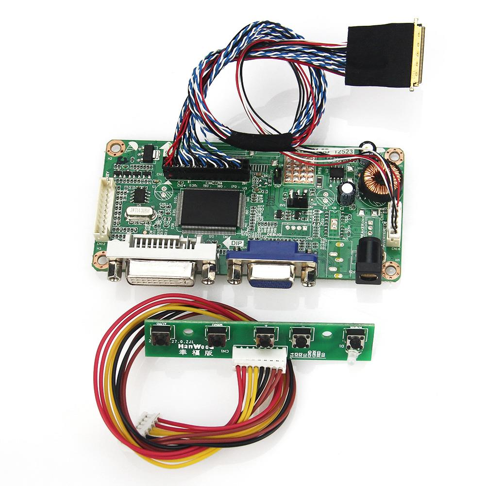 For B173HW01 N173HGE-L11 (VGA+DVI) M.RT2261 M.RT2281 LCD/LED Controller Driver Board LVDS Monitor Reuse Laptop 1920x1080