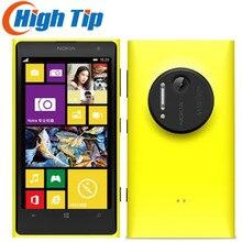 """Бесплатный подарок! Nokia Lumia 1020 мобильный телефон разблокированный 4,"""" сенсорный экран 41.0MP камера 32 гб rom 2G двухъядерный wifi восстановленный"""
