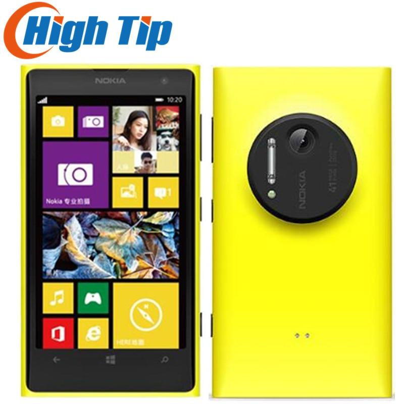 Freies geschenk! Nokia Lumia 1020 original handy entsperrt 4,5