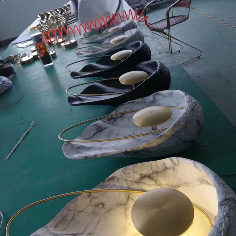 Современный настенный светильник новый дизайн свет Роскошные латунная настенная лампа вилла гостиная украшения