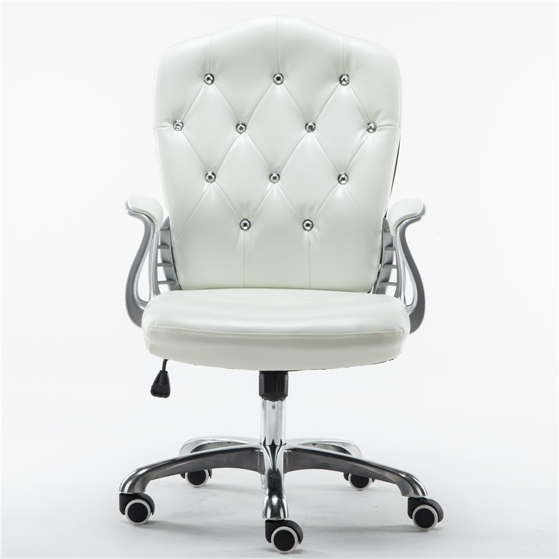 Style Lifted Computer Chair Household Multi-function Swivel Chair Rotated Office Executive Chair Slidable Makeup Stool