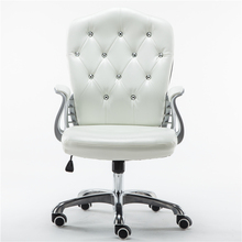 Style Lifted Computer Chair Household Multi-function Swivel Chair Rotated Office Executive Chair Slidable Makeup Stool fashion comfortable exquisite office chair home students computer chair multi function swivel lifting mesh office chair seat