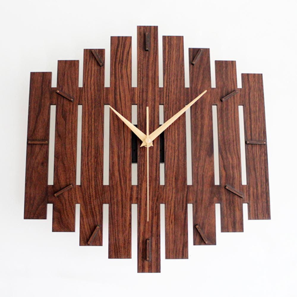 vintage campo vallas simple moda reloj de pared del arte creativo diseo popular reloj de pared