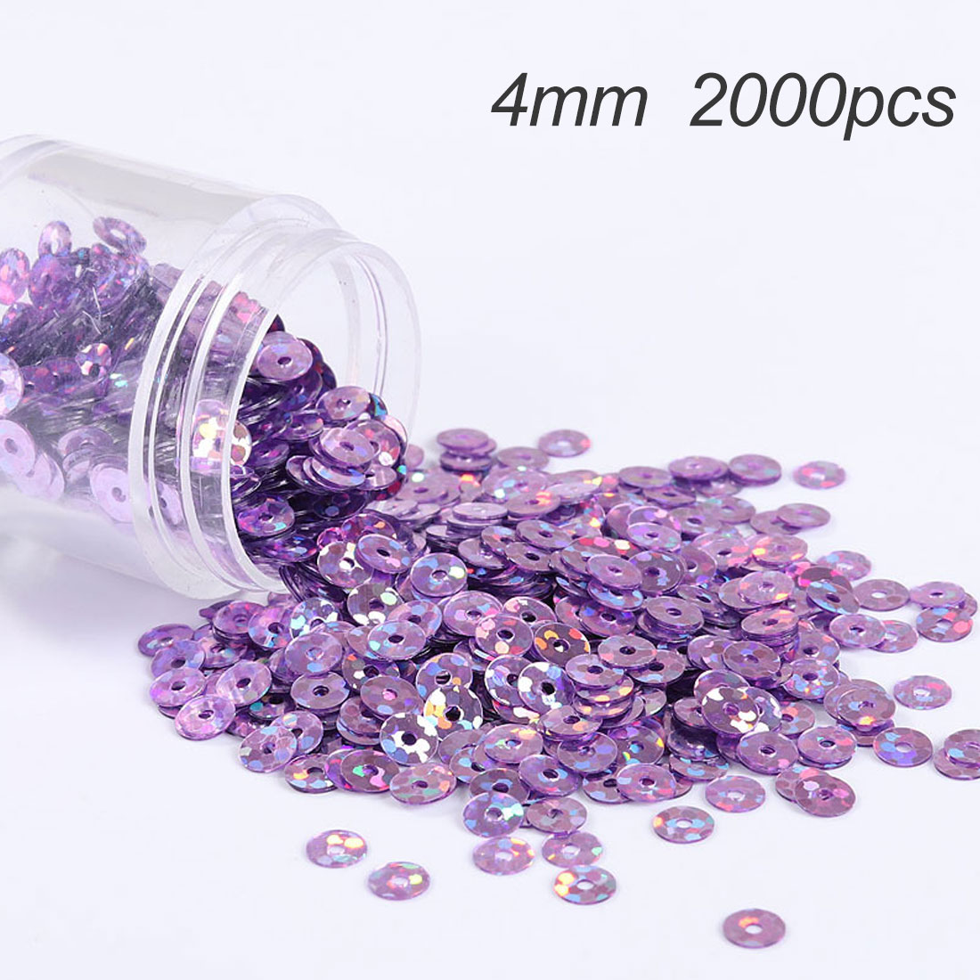 loose sequin spaillette PVC Flat Round Wedding Craft Dull Polish Sequins Matting Women Garments Accessorie