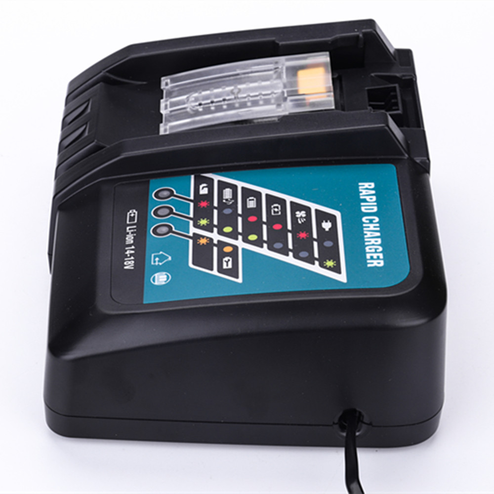 DC18RCT For Makita 14.4V 18V Li-ion Battery Charger 3A Charging Current For BL1830 BL1430 DC18RC DC18RA Power Tool