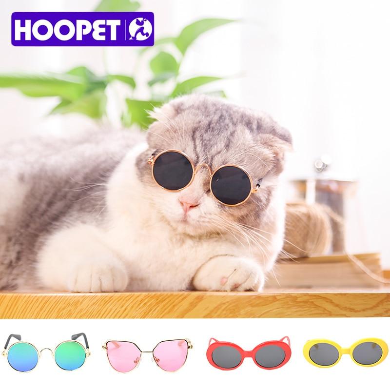 47aa558de50dfa HOOPET Pet lunettes de Soleil Teddy Petit Chien Lunettes Rondes Chats À  Jouer Cool Accessoires dans Dog Accessories de Maison   Jardin sur  AliExpress.com ...