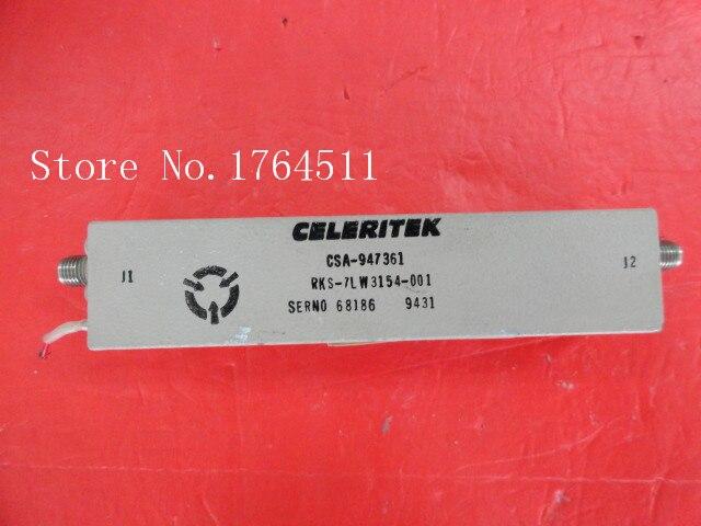 [BELLA] CELERITEK CSA-947361 5.5-10GHz G:36dB 15V Supply Amplifier SMA