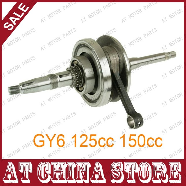 Crank Shaft 152QMI 157QMJ Crankshaft for GY6 125cc 150cc Scooter Moped ATV Go Kart Quad