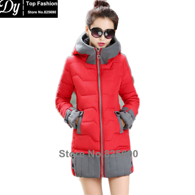 New Padded Winter Jacket Women Cotton Women's Winter Jacket Hooded Cape Padded Slim Plus Size Parkas Hooded Coat winter jacket female parkas hooded fur collar long down cotton jacket thicken warm cotton padded women coat plus size 3xl k450