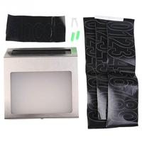 Fashion Doorplate Solar Energy Light Doorplate Lamp Solar Lamp LED Outdoor Door Gate Lamp