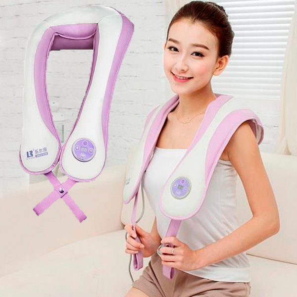 2016 Best Selling Backache Pain Relief Health Care Back Massage Belt Beating Device Neck Shoulder Massage Free Shipping