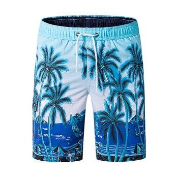 2019 Newest Men Summer Casual Shorts Man Board Shorts Breathable Elastic Waist Fashion Short Men Drop Shipping ABZ205 1