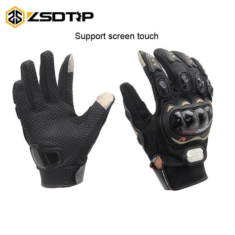 ZSDTRP-Touch Screen Handschuhe Motorrad Handschuhe Winter & Sommer Motos Luvas Guantes Schutz Getriebe Racing Handschuhe