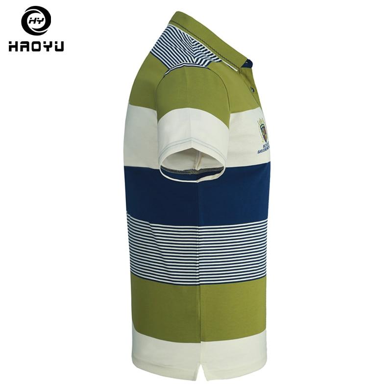Camisa polo lühikeste varrukatega puuvill ja tähed Logo gradient - Meeste riided - Foto 4