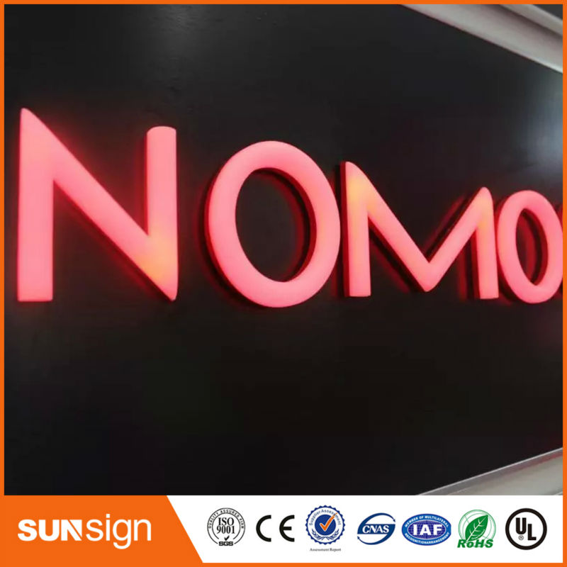 Wholesale Waterproof 9'' Store Front Sign Type Led Sign Letters