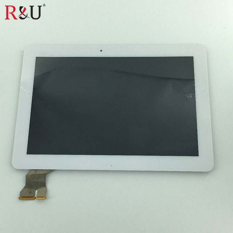 LCD display touch screen Digitizer Assembly + application of gum For ASUS Transformer Pad TF103 TF103CG k018 MCF-101-1589-V2 7 inch for asus me173x me173 lcd display touch screen with digitizer assembly complete free shipping