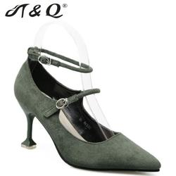 T q 2017 autumn women pumps 8cm fashion sexy high heels shoes mary janes pointed toe.jpg 250x250