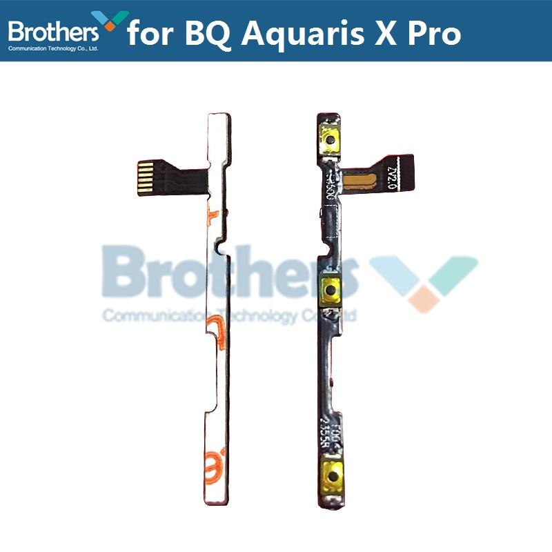 For BQ Aquaris X Pro Power Flex Cable Volume Buttons Flex Cable For BQ Aquaris X Pro Power On Off Flex Cable Phone Replacement