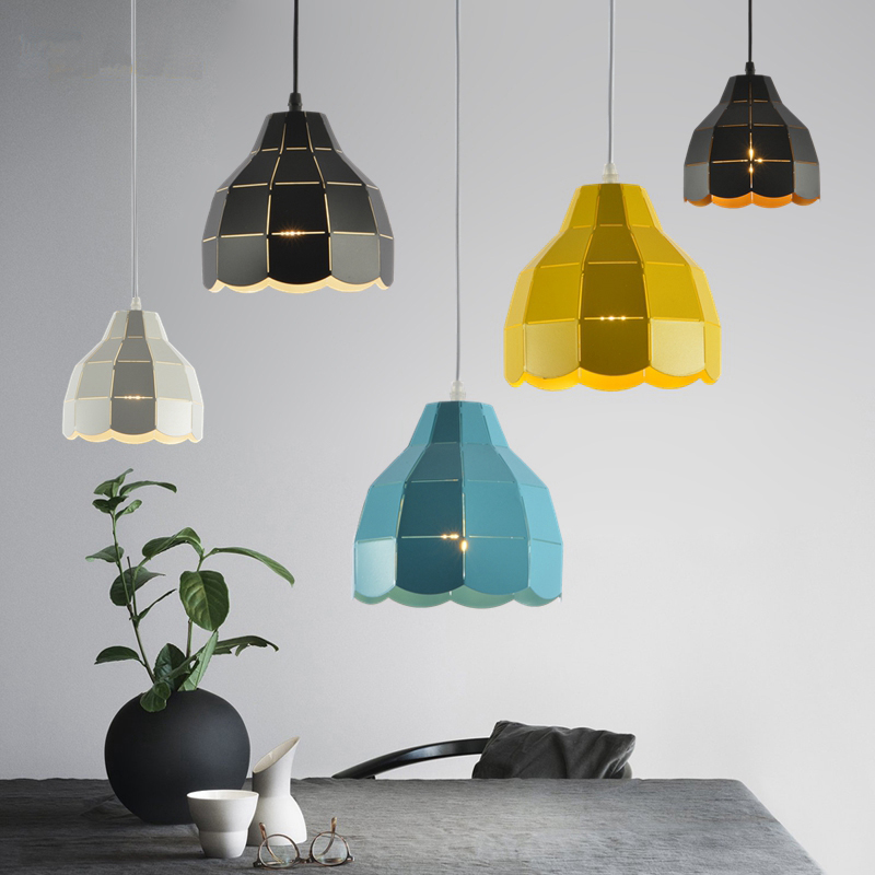 Northern Europe is simple modern single head bar desk study chromatic lamps and lanterns Pendant Lights LO71919 lo1024