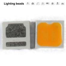 100pcs/LOT SMD LED SEOUL 3030 CRI 90-95 Chip 1W 1.4W 6V-6.8V 200MA White warm cold 2700K 3000K 3500K 110-120LM