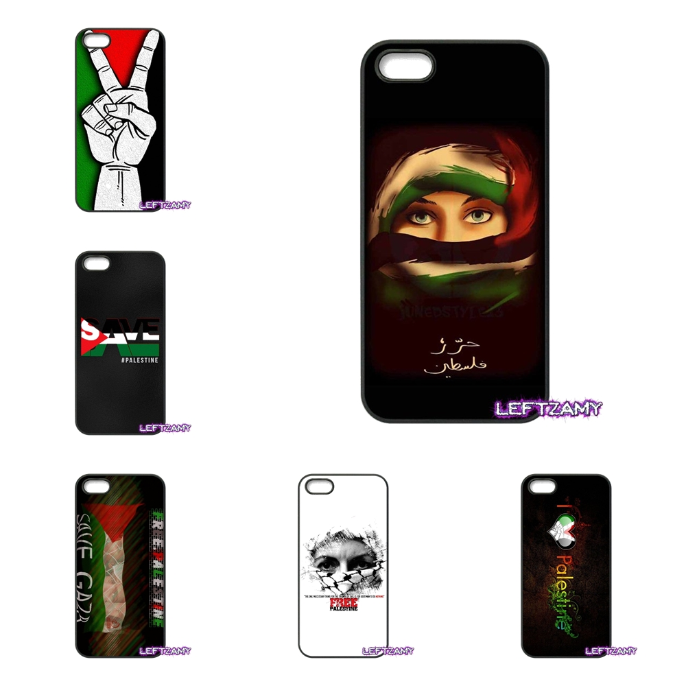Love free palestine flag Hard Phone Case Cover For iPhone 4 4S 5 5C SE 6 6S 7 8 Plus X 4.7 5.5 iPod Touch 4 5 6