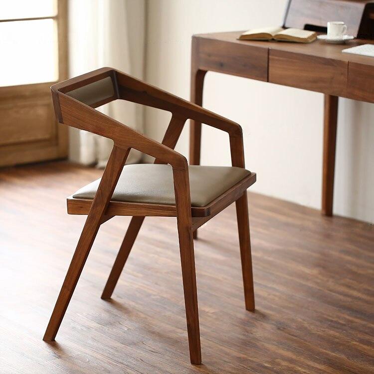 simple wood chair coffee chair lounge chair wood dining chairs