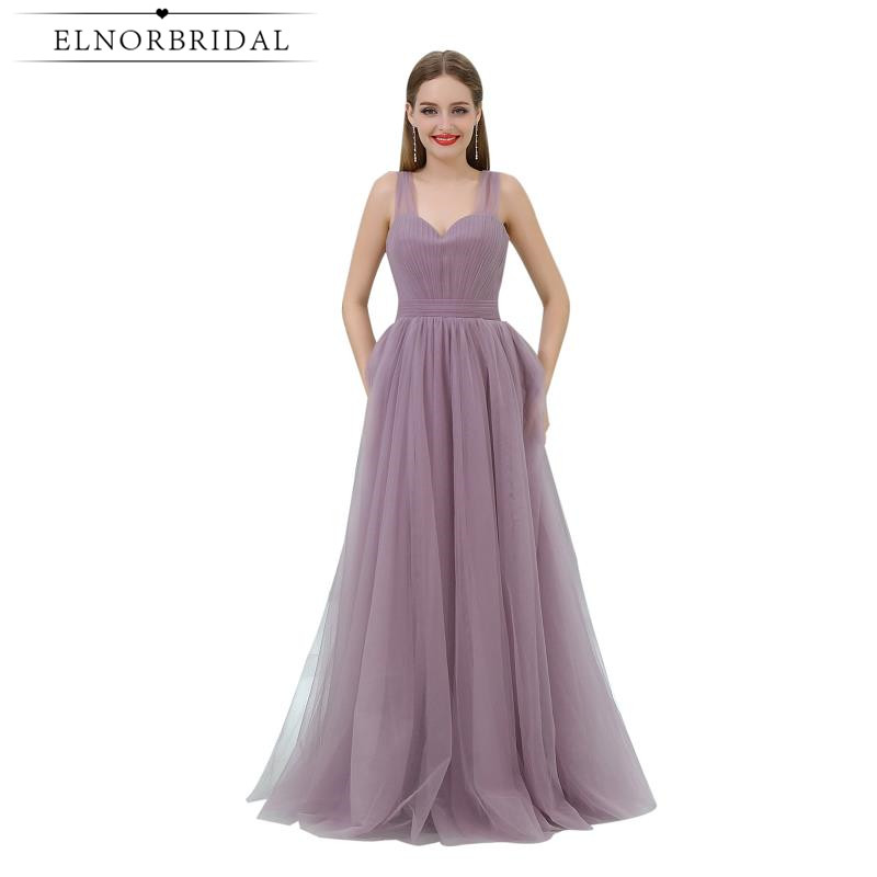 Simple Prom Dresses Cheap 2019 Vestido De Festa Formal Women Evening Dress A Line Open Back Special Occasion Pageant Gowns