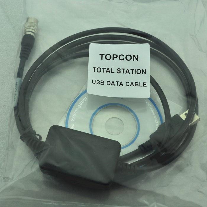 Com/USB загружать данные кабель для Topcon тахеометра