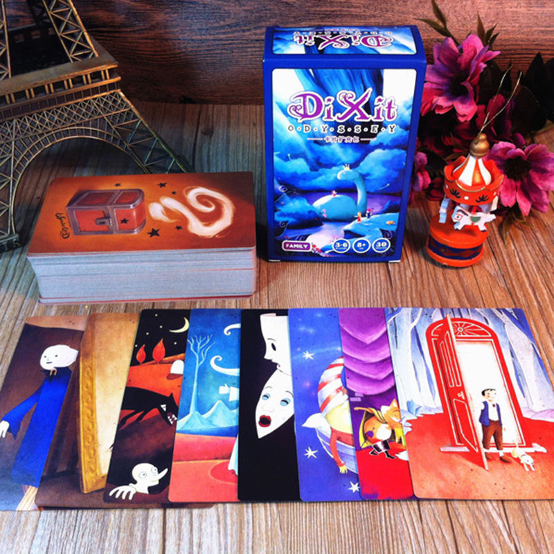 DIXIT Expansion Version Illustration ,110 PCS Cards Game Collection Card Toys For Kids Gift Action Figures Free Shipping