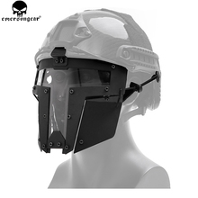 EMERSONGEAR Tactical IRON WARRIOR Full Mask Mesh Outdoor Protective Airsoft Paintball Accessories CS  Full Face Mesh BD6649