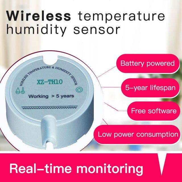 Smart Home Automation wireless moisture temperature sensor remote control wireless temperature and humidity transmitter