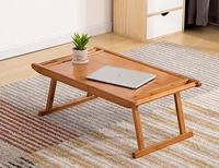 fold Bamboo tea table desk tablo tables