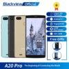 هاتف Blackview A20 Pro بشاشة كاملة 5.5 بوصة 18:9 بذاكرة وصول عشوائي 2 جيجا بايت وذاكرة قراءة فقط 16 جيجا بايت معالج mt6739وول رباعي النواة يعمل بنظام أندرويد 8.1 يعمل بشريحتين هاتف ذكي بتقنية الجيل الرابع