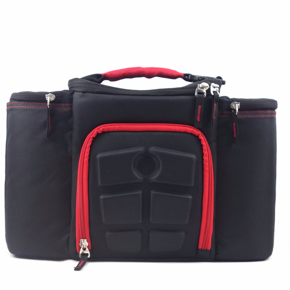 2019 New Design Keep Hot Or Cold Mealpicnic Bag Lunch Insulated Portable Fabric Thermal Cooler Bag Large Volume Food Bags