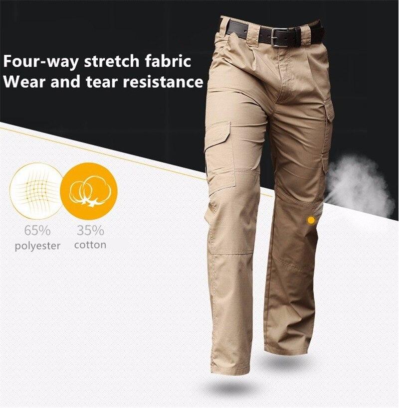 Mega Deal #e52f MEGE Brand Urban Tactical Ripstop Pants