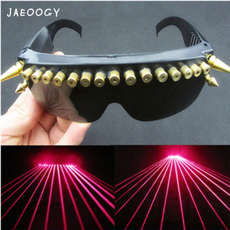 Laser glasses laser dance equipment night bar stage performance supplies nightclub dance hall supplies