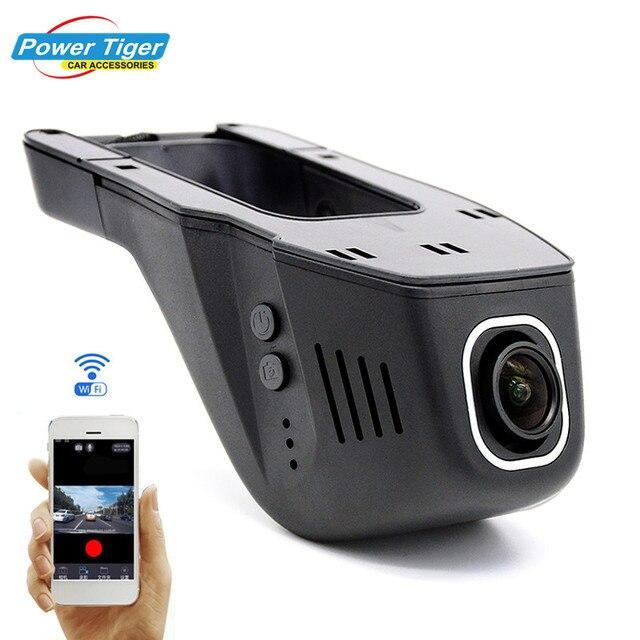 Универсальный Видеорегистраторы для автомобилей DVRs регистратор Wi-Fi Авто Камера Регистраторы регистраторы черный ящик видеокамеры Full HD 1080 P Новатэк 96658 + Sony imx322