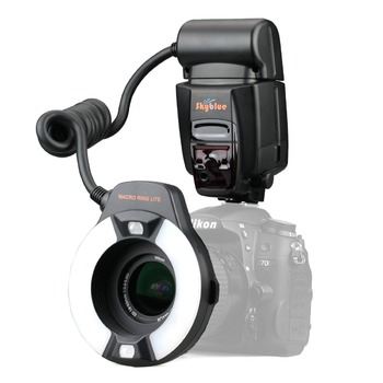 цена на Meike MK-14EXT MK-14-EXT ITTL Macro TTL ring flash AF assist lamp Speedlite For Nikon Camera