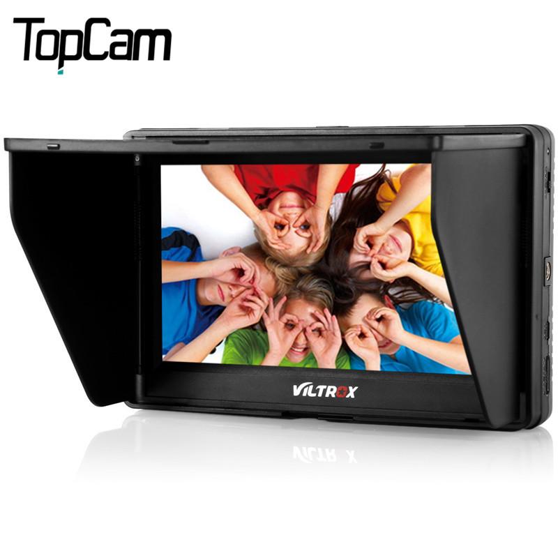 Prix pour Viltrox dc-70ii 7 pouce portable hdmi in/out clip-sur haute définition lcd pour appareil photo reflex numérique