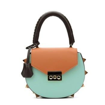 Daisy, genuine leather summer crossbody purse for women