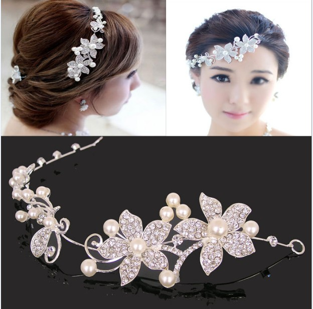 Diamond Tiaras And Crowns Bridal Hair Ornaments For ...