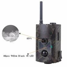Trail Caça Camera 3G Armadilha Foto MMS SMS GPRS 16MP HD Câmeras Do Jogo de Vídeo da vida selvagem com visão Nocturna do IR 3G câmera de Caça