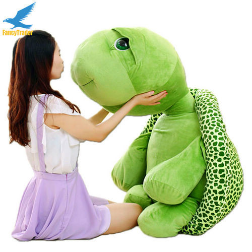Fancytrader 59\'\' 150cm Lovely Stuffed Soft Giant Tortoise Turtle Toy, Free Shipping FT50059 (5)