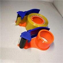 1 шт. приносим стабильный слот для карты диспенсер для ленты пластиковый ролик 60 мм ширина ленты резак упаковщик резки машина Прямая поставка