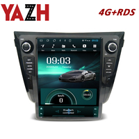 Android 8.0 headunit with 4G RDS autoradio For Nissan X Trail/Qashqai (Automatic AC) /Dualis 2013 12.1 inch 1024*768 display 4GB