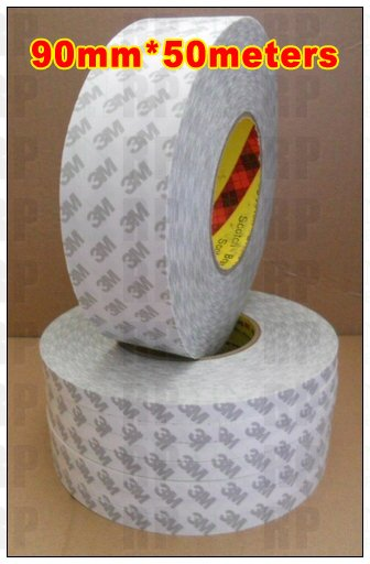 1 Roll 90mm (9cm) width, 50 meters length, Double Sided Coated Sticky, 3M Electronic Solution Tape, Daily Using1 Roll 90mm (9cm) width, 50 meters length, Double Sided Coated Sticky, 3M Electronic Solution Tape, Daily Using